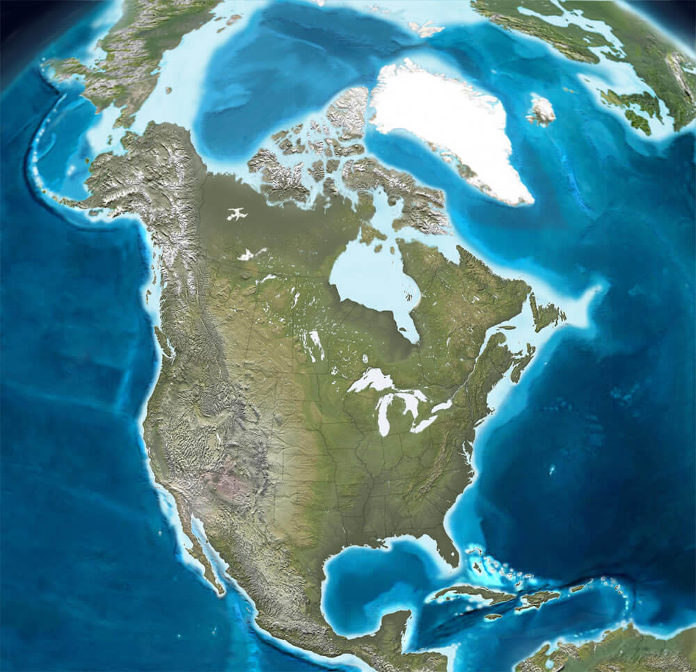 Tectonic Structure of North America