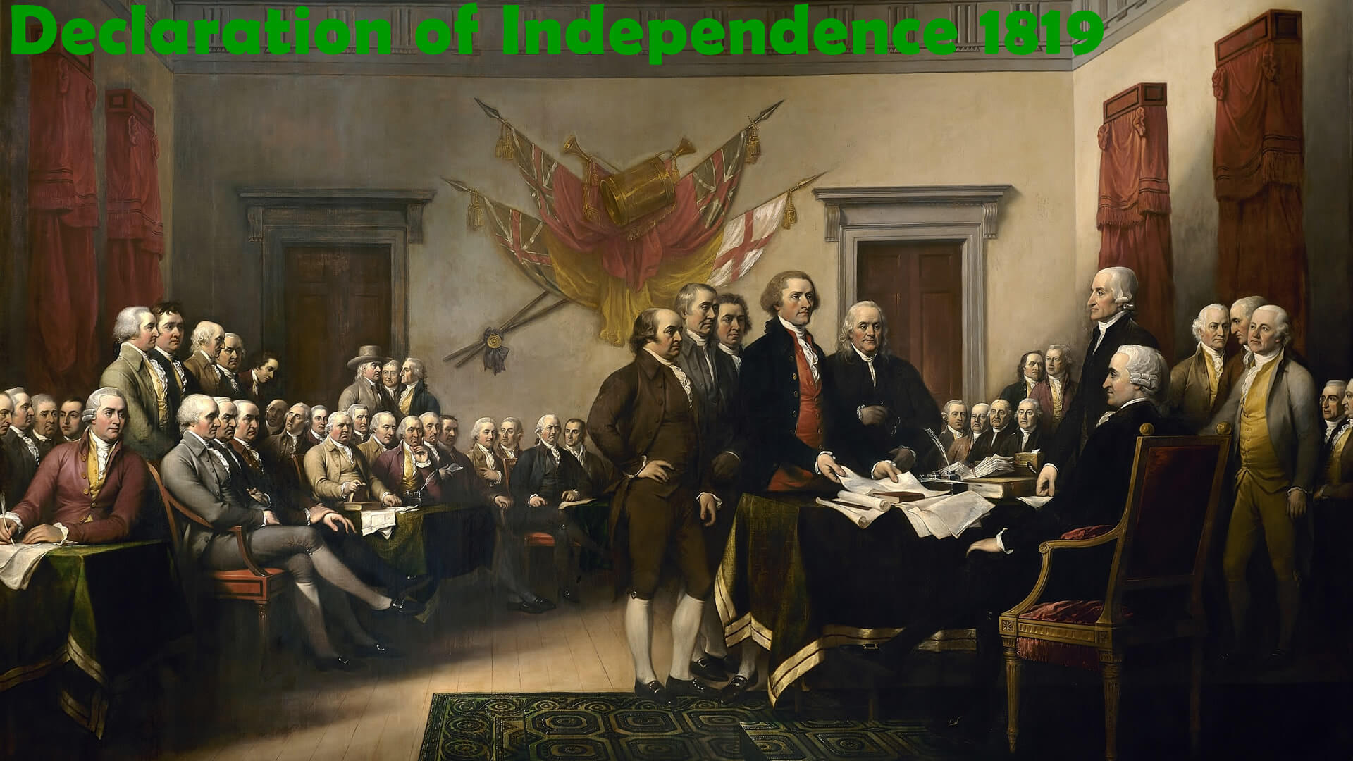 Declaration of Independence 1819