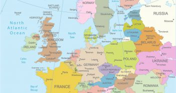 Topography Map Of Europe Archives Guide Of The World