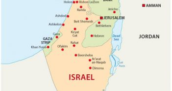 Israel National Map
