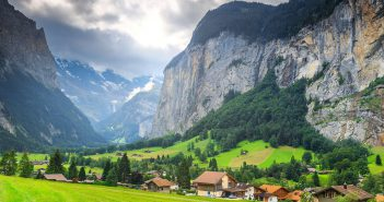 Lauterbrunnen, Bernese Oberland, Switzerland
