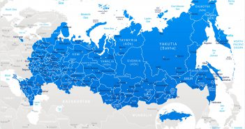 Russia Travel Map