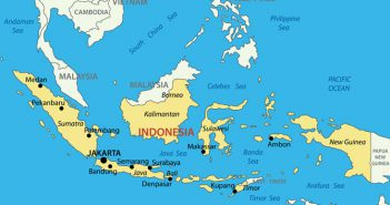 Republic of Indonesia Vector Map