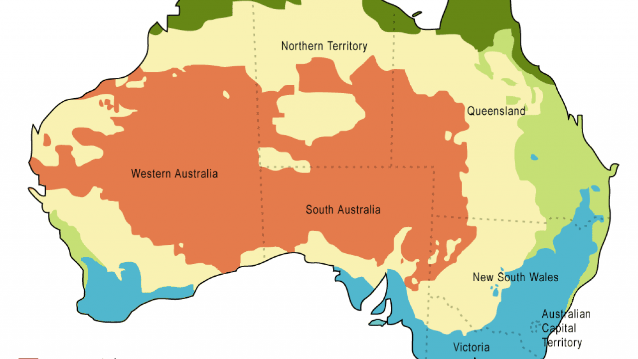 Australia Map Climate.Australia Has The Climate To Suit Everyone Guide Of The World