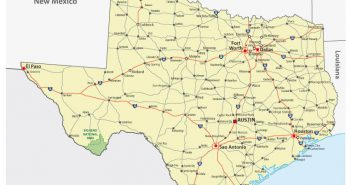 Physical Map Of Texas.Physical Map Of Texas Archives Guide Of The World