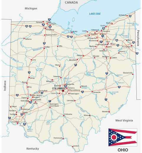 Ohio Maps - Guide of the World Interstate Maps on u.s. route 1, us route 20 map, national highway system, hobbs map, highway map, pan-american highway, u.s. route 66, us route 84 map, delco map, heartland map,