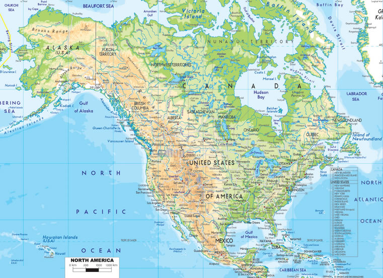 North America - Guide of the World