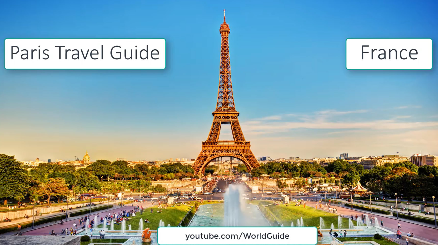 paris vacation travel guide