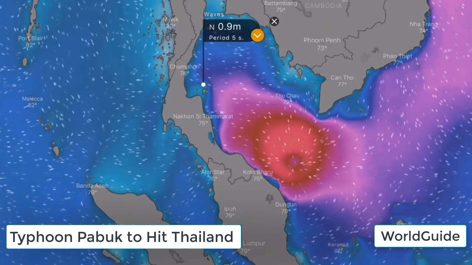 Thailand Tropical Storm