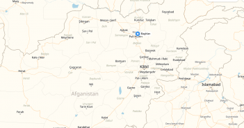 baghlan afghanistan cities map