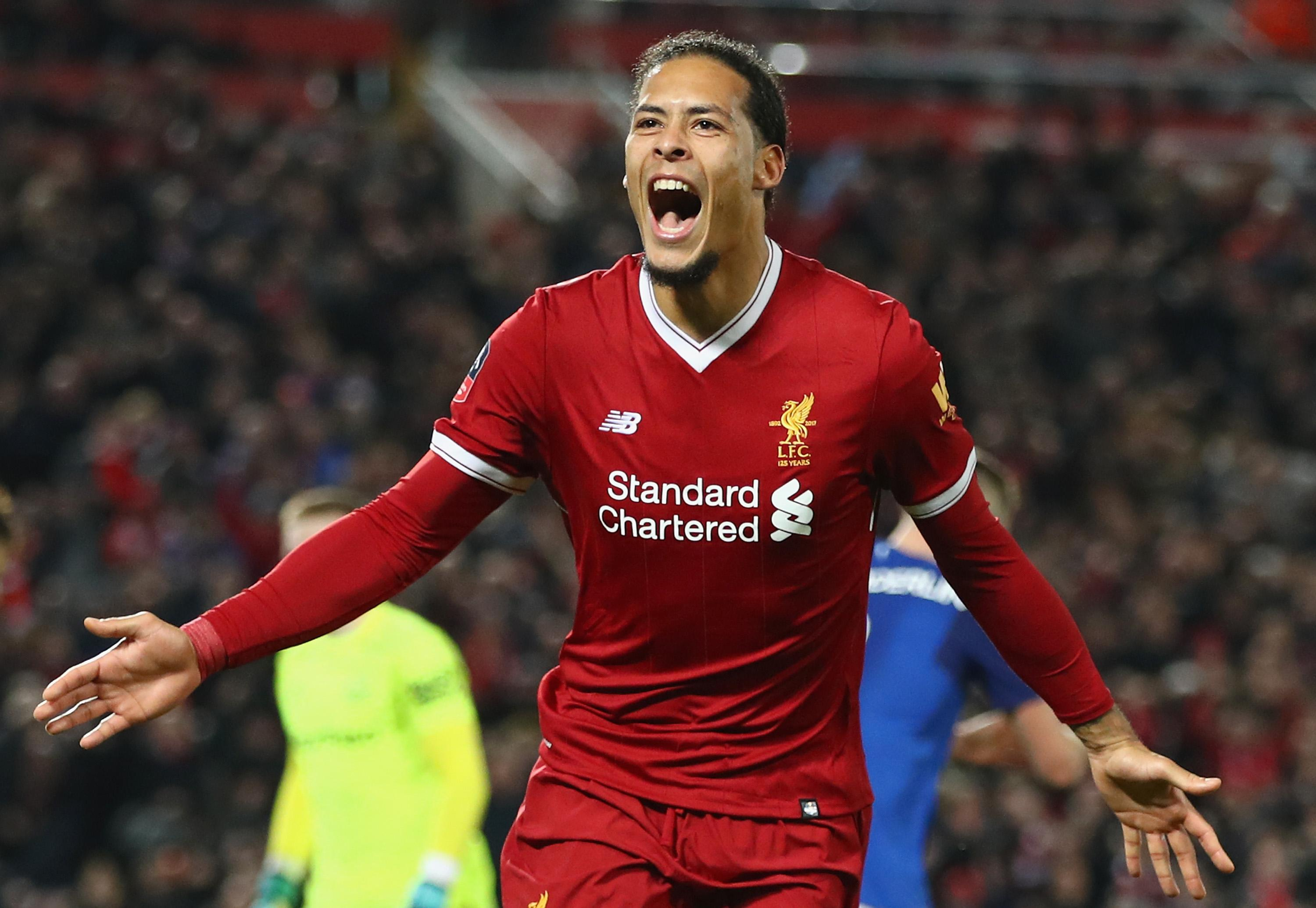 Virgil van Dijk premier league