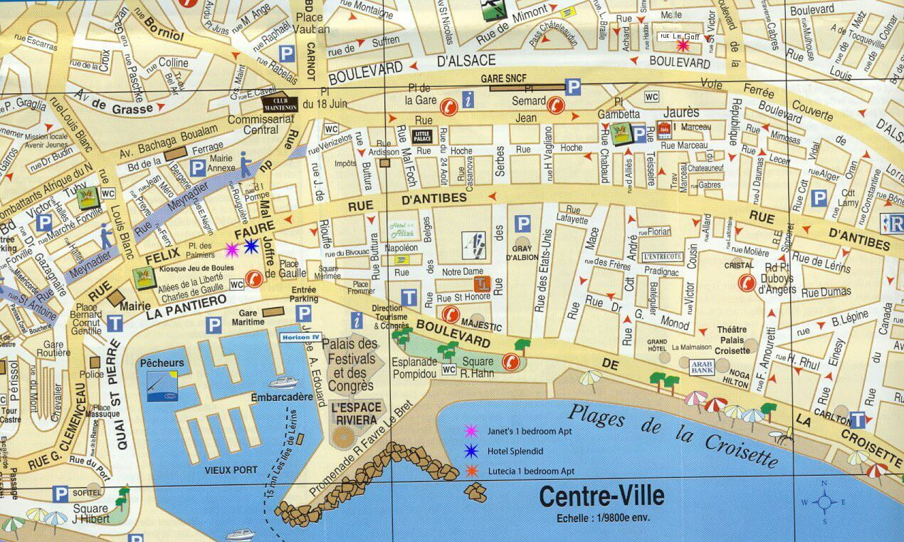 cannes map france