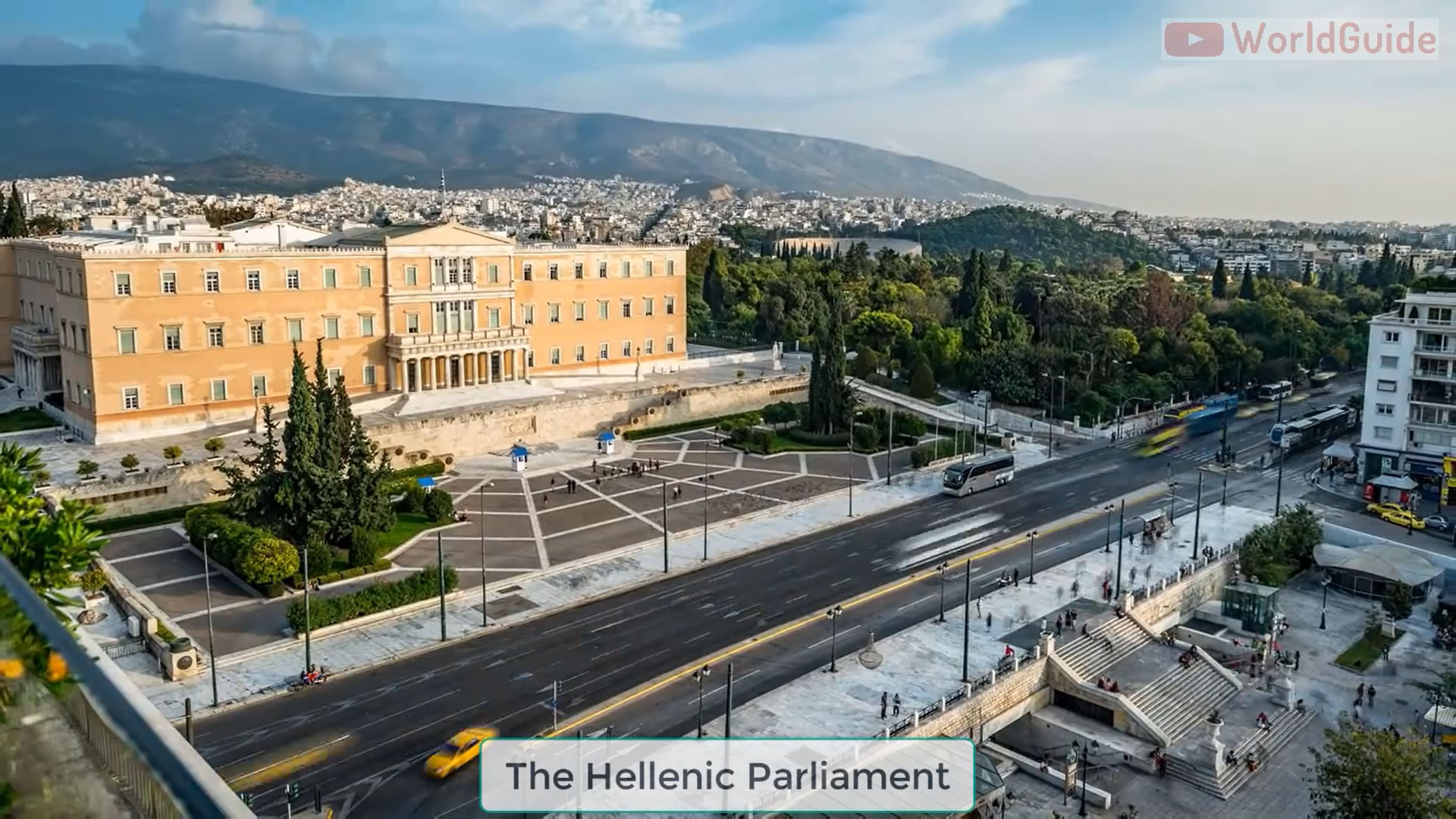The Hellenic Parliament Athens