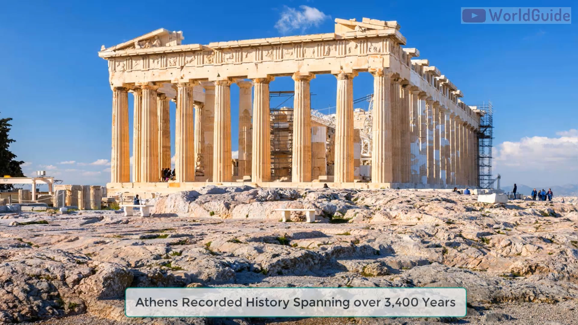 Athens Recorded History Spanning over 3,400 Years