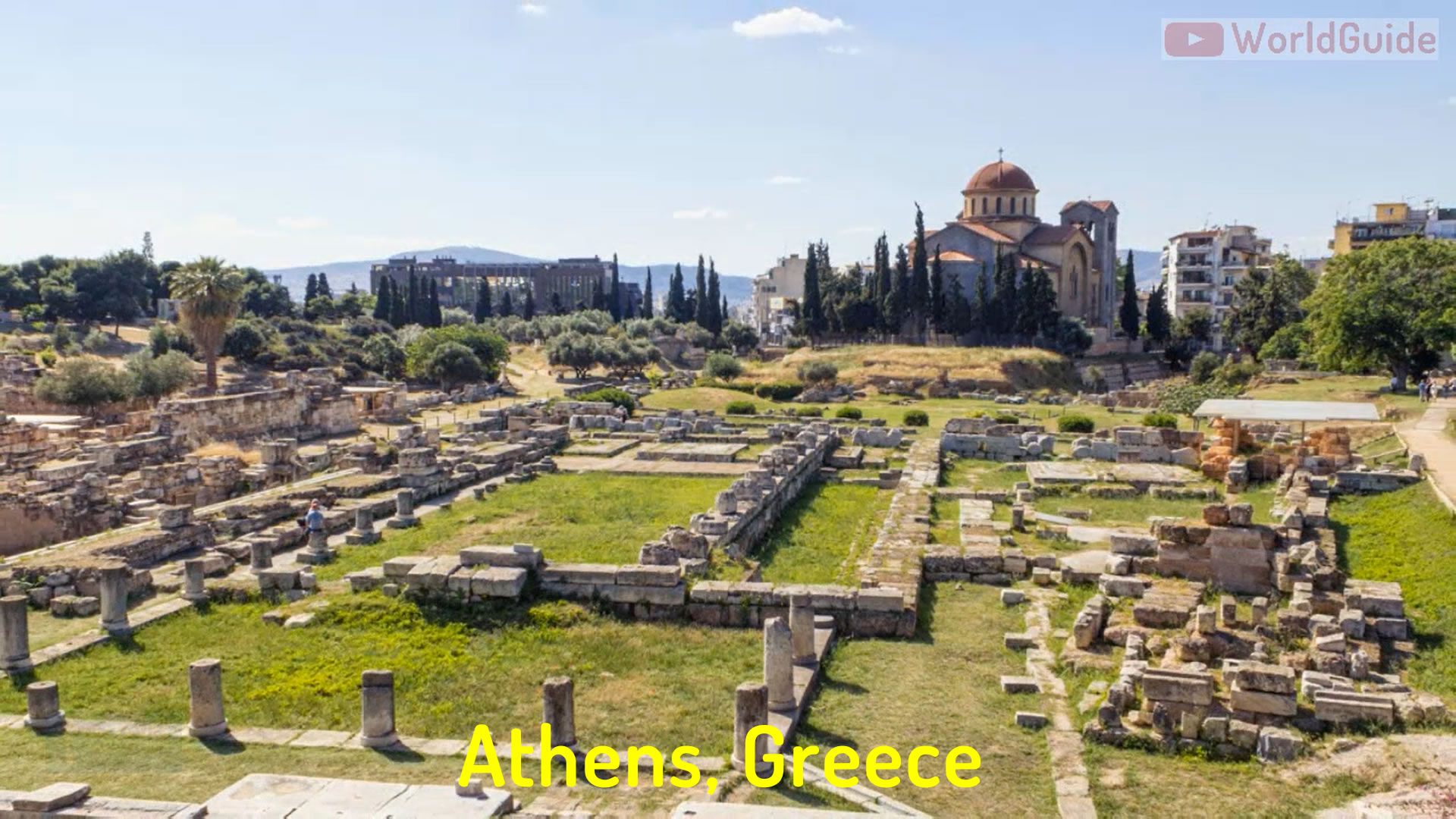 athens greece historical sites