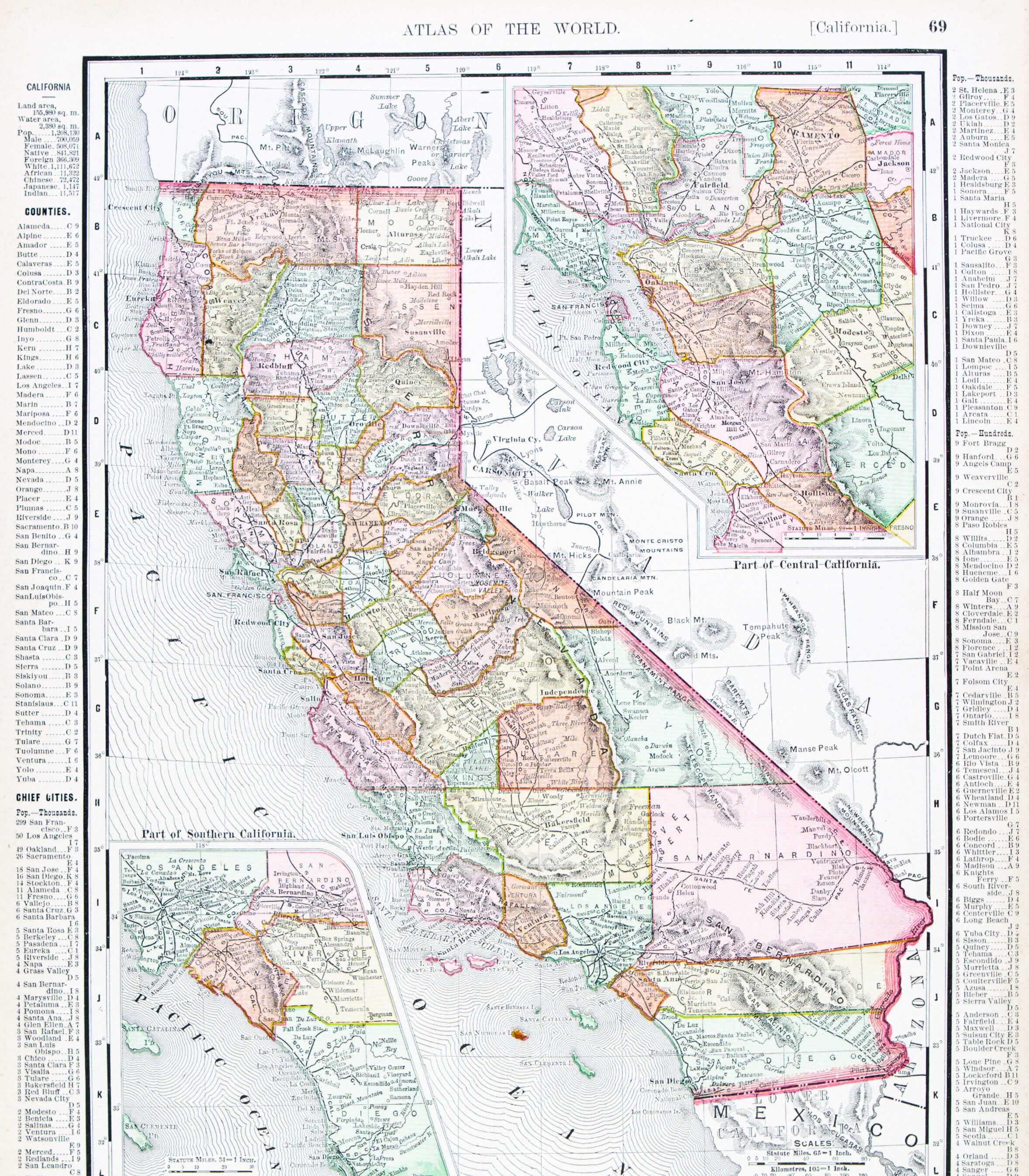 California Historical Map