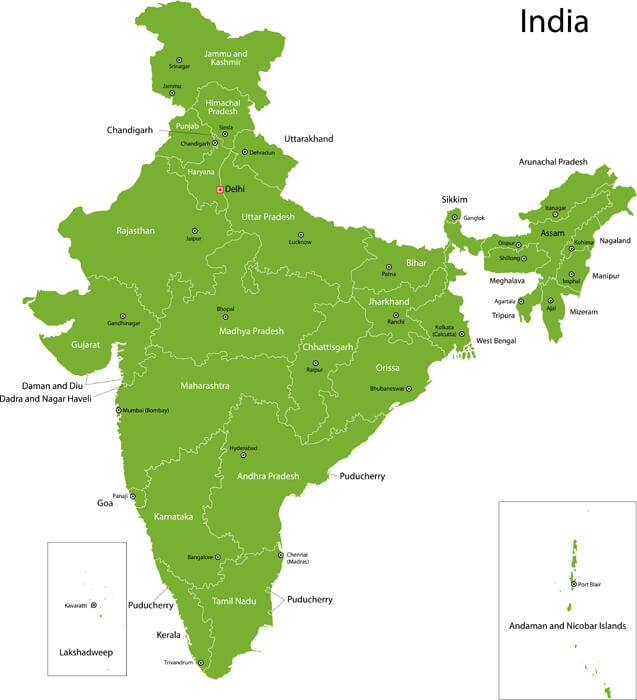India State Map