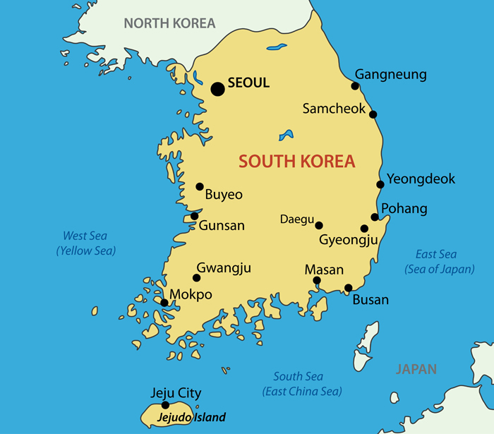 South Korea Map - Guide of the World on a map of the u, a map of the florida keys, a map of the european countries, a map of soviet union, a map of the far east, a map of estonia, a map of japan, a map of vietnam, a map of the pentagon, a map of moldova, a map of indonesia, a map of vanuatu, a map of andorra, a map of anguilla, a map of seychelles, a map of other country, a map of korean war, a map of the united, a map of u.s.a, a map of tuvalu,