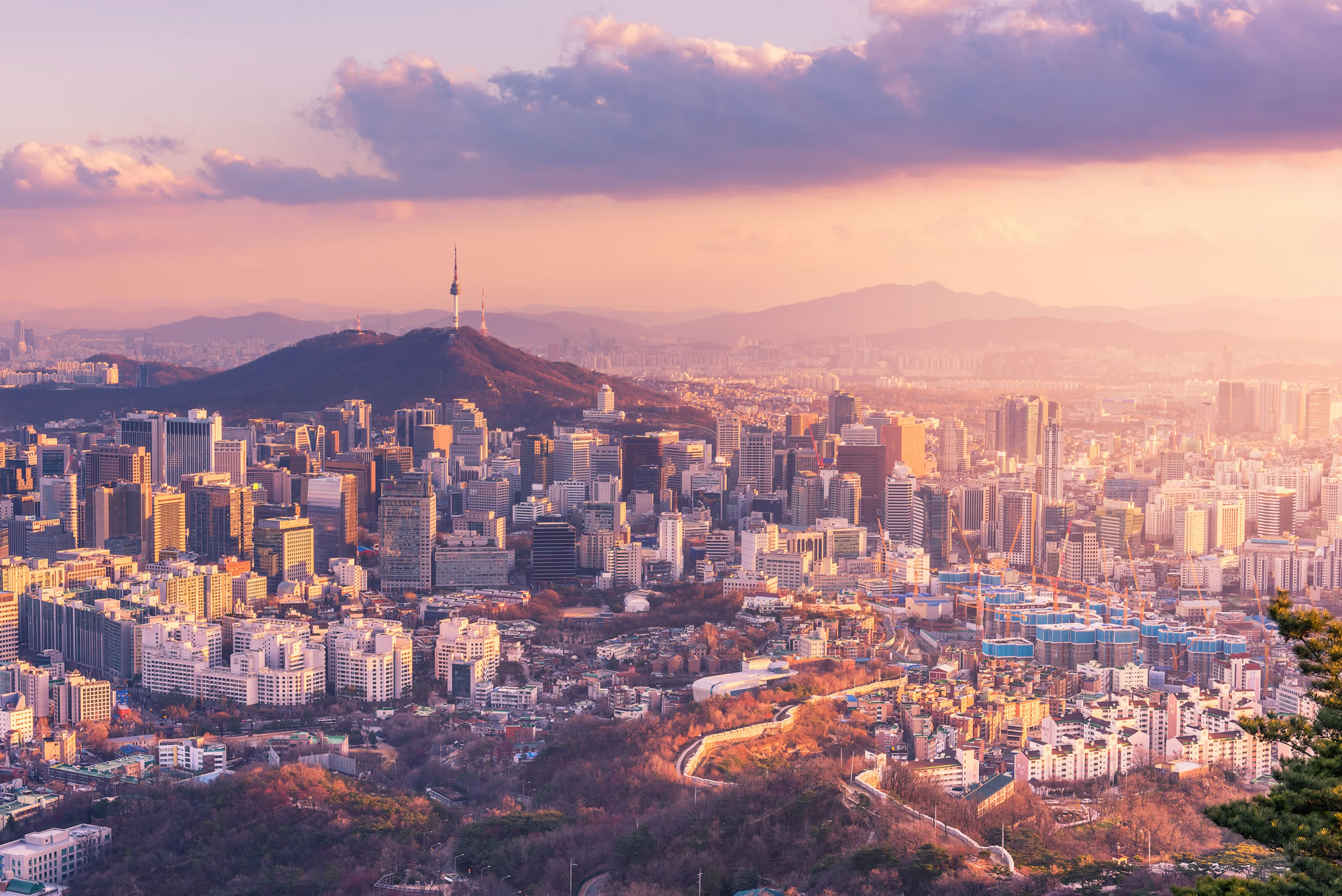 Seoul Skylines, South Korea