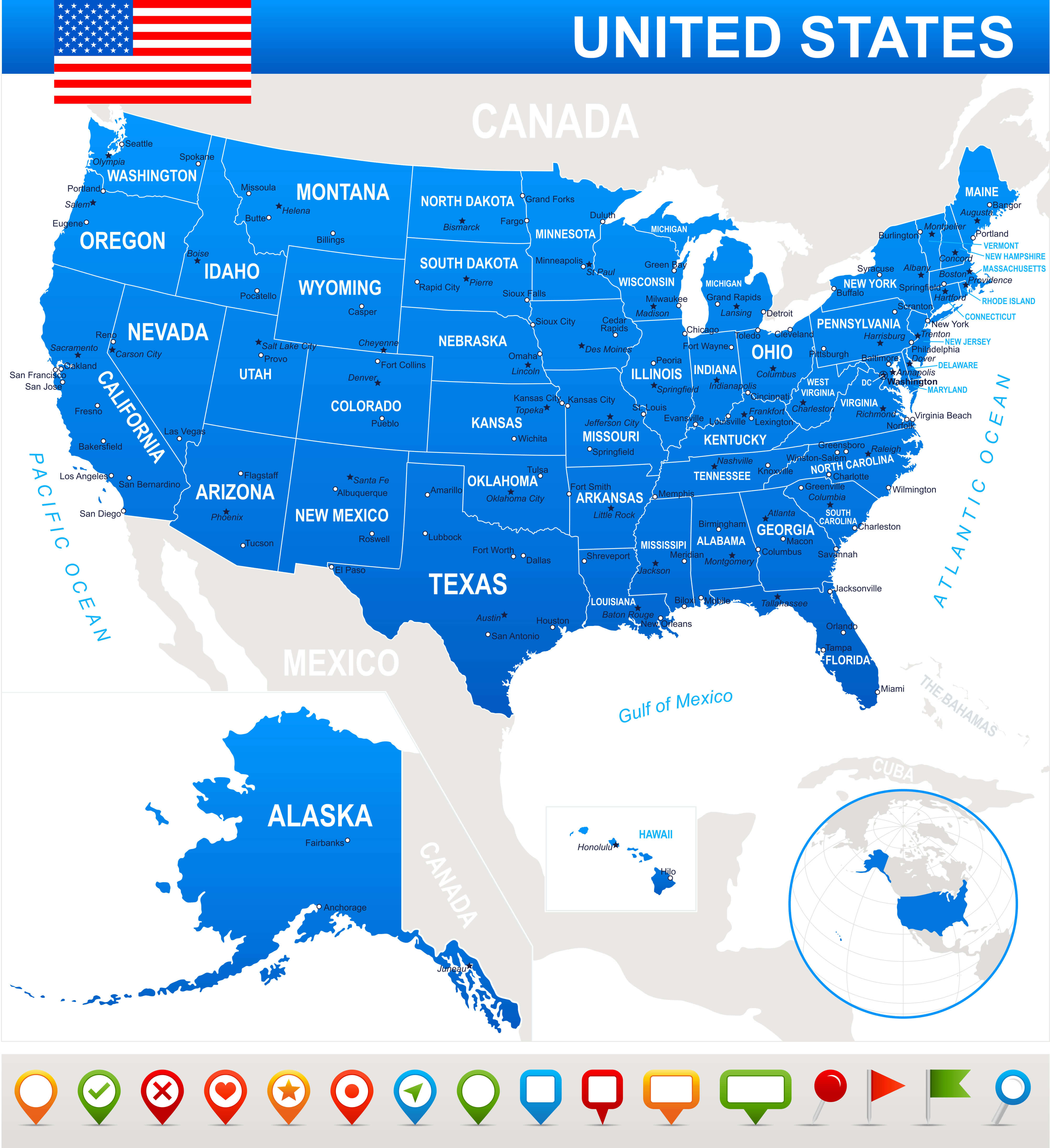 United States State Map