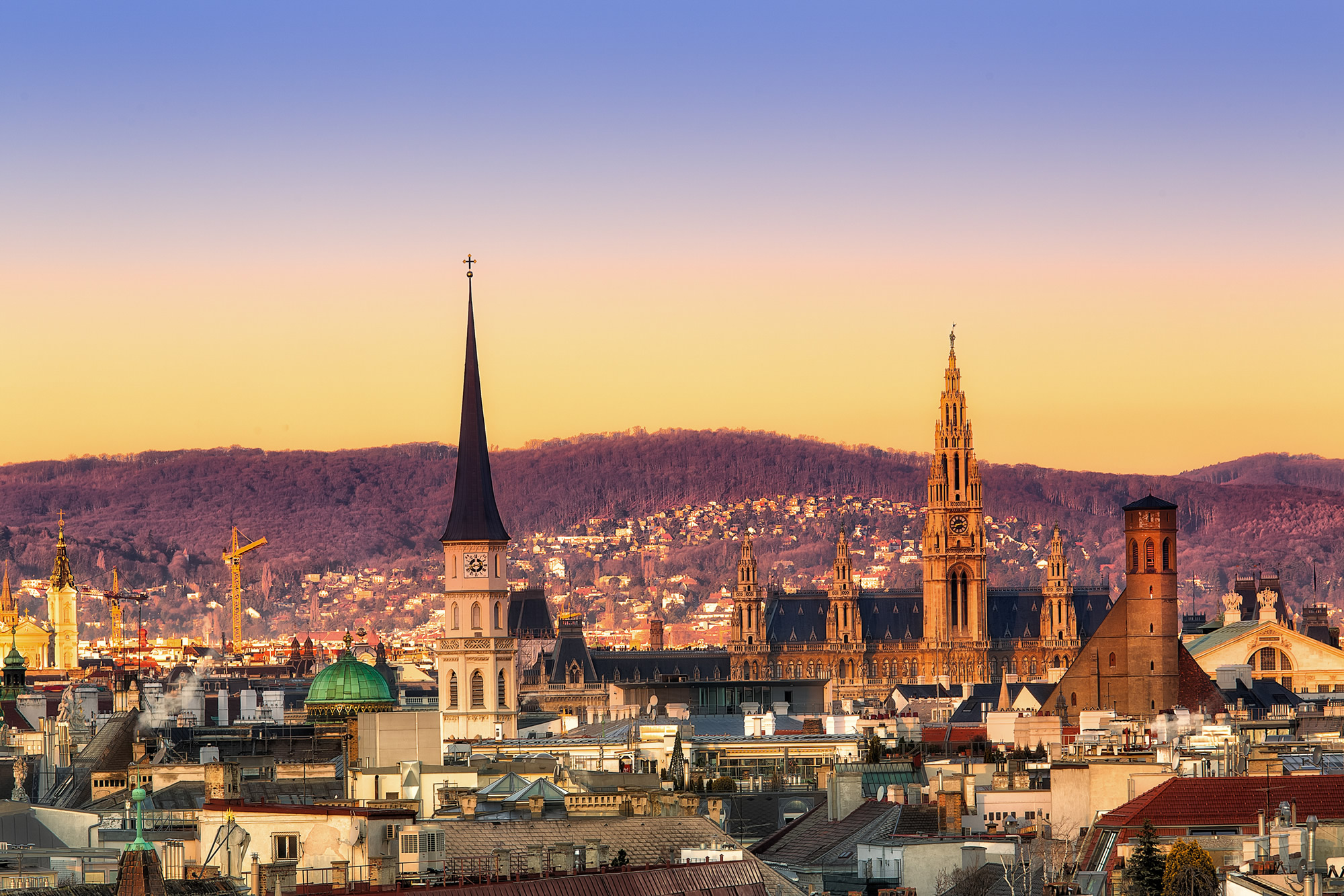 Vienna Sunset, Austria