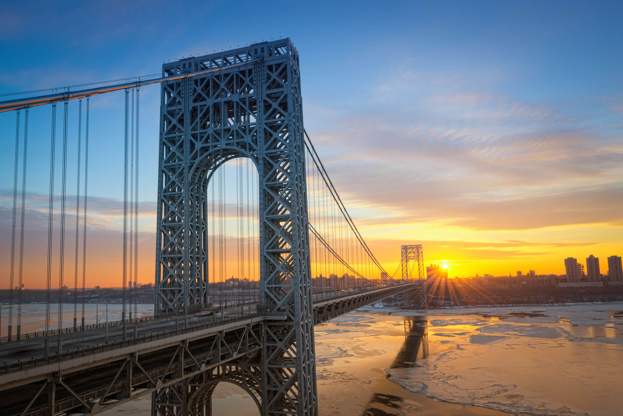 George Washington Bridge, New Jersey
