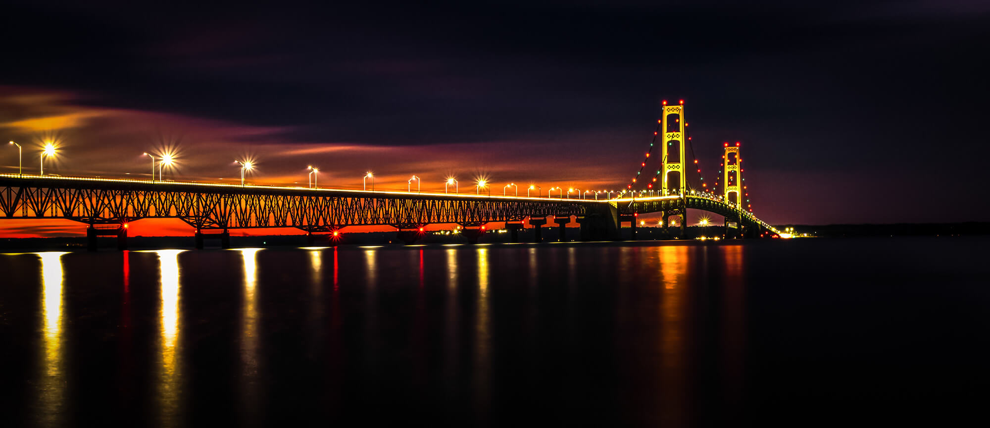 Michigan Mackinaw Bridge