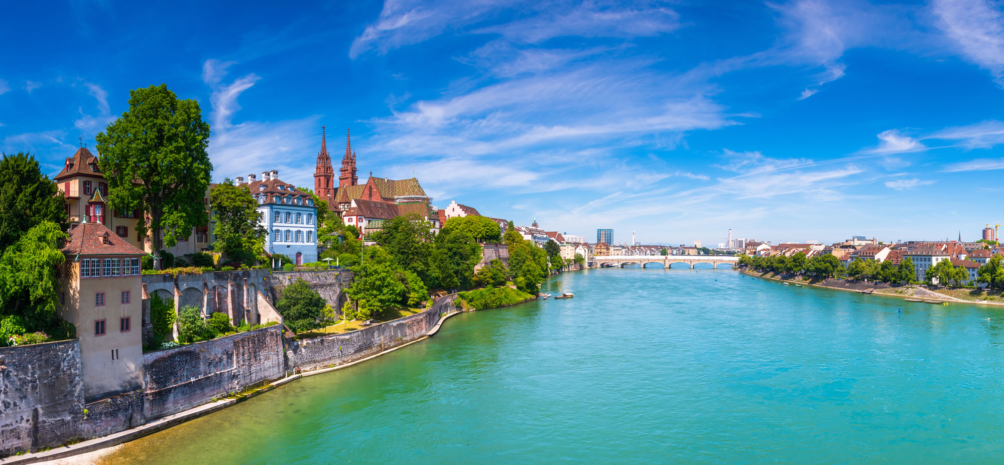 Rhine River, Switzerland