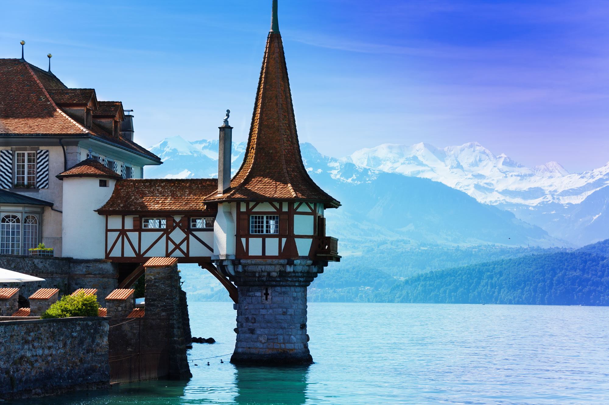 Thun Lake Bern, Switzerland
