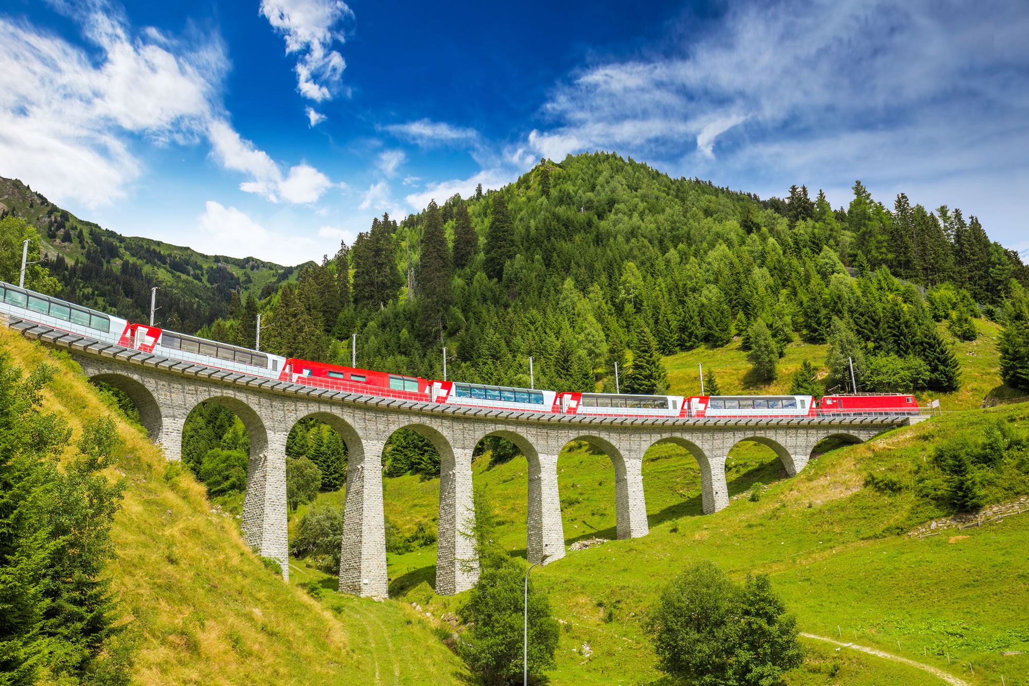 Viaduct Bridge, Albula / Bernina Switzerland