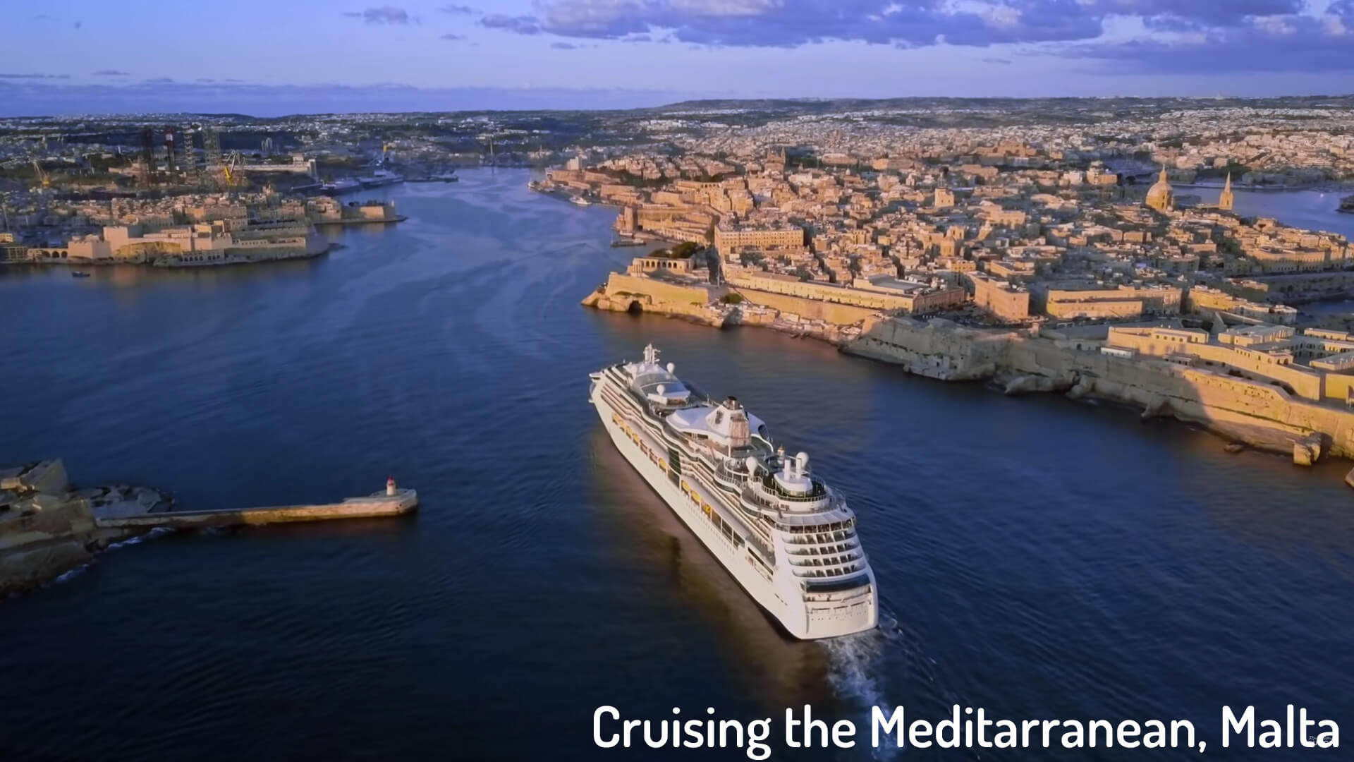 Cruising the Meditarranean, Malta