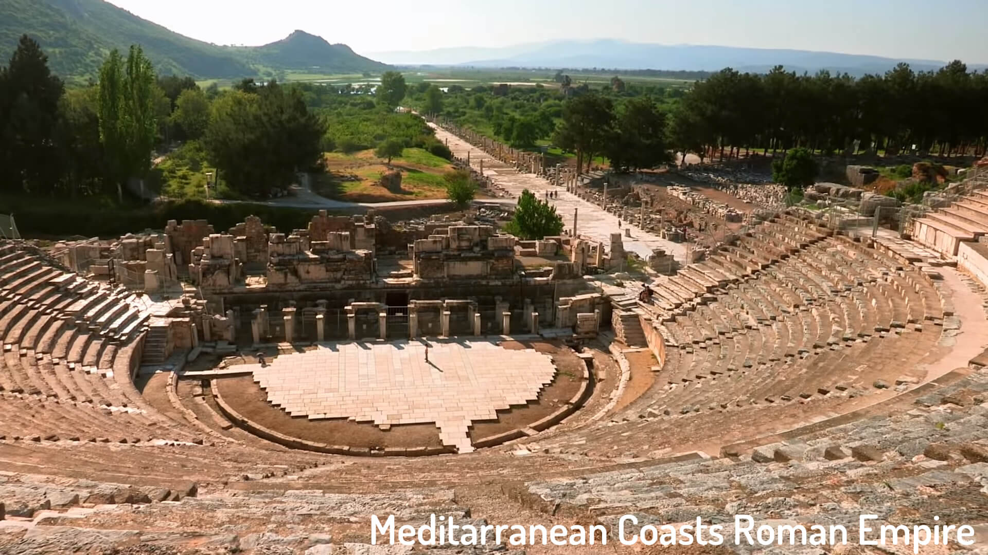 Meditarranean Coasts Roman Empire