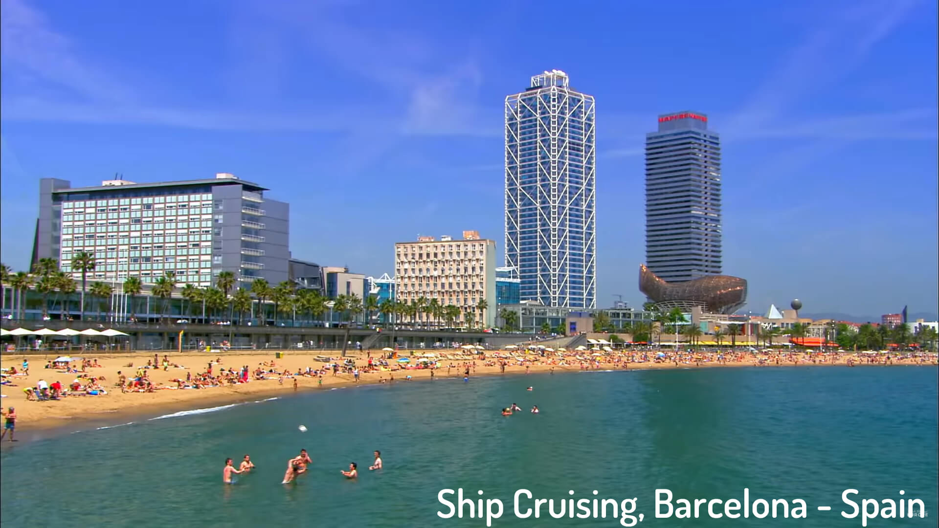Ship Cruising, Barcelona - Spain