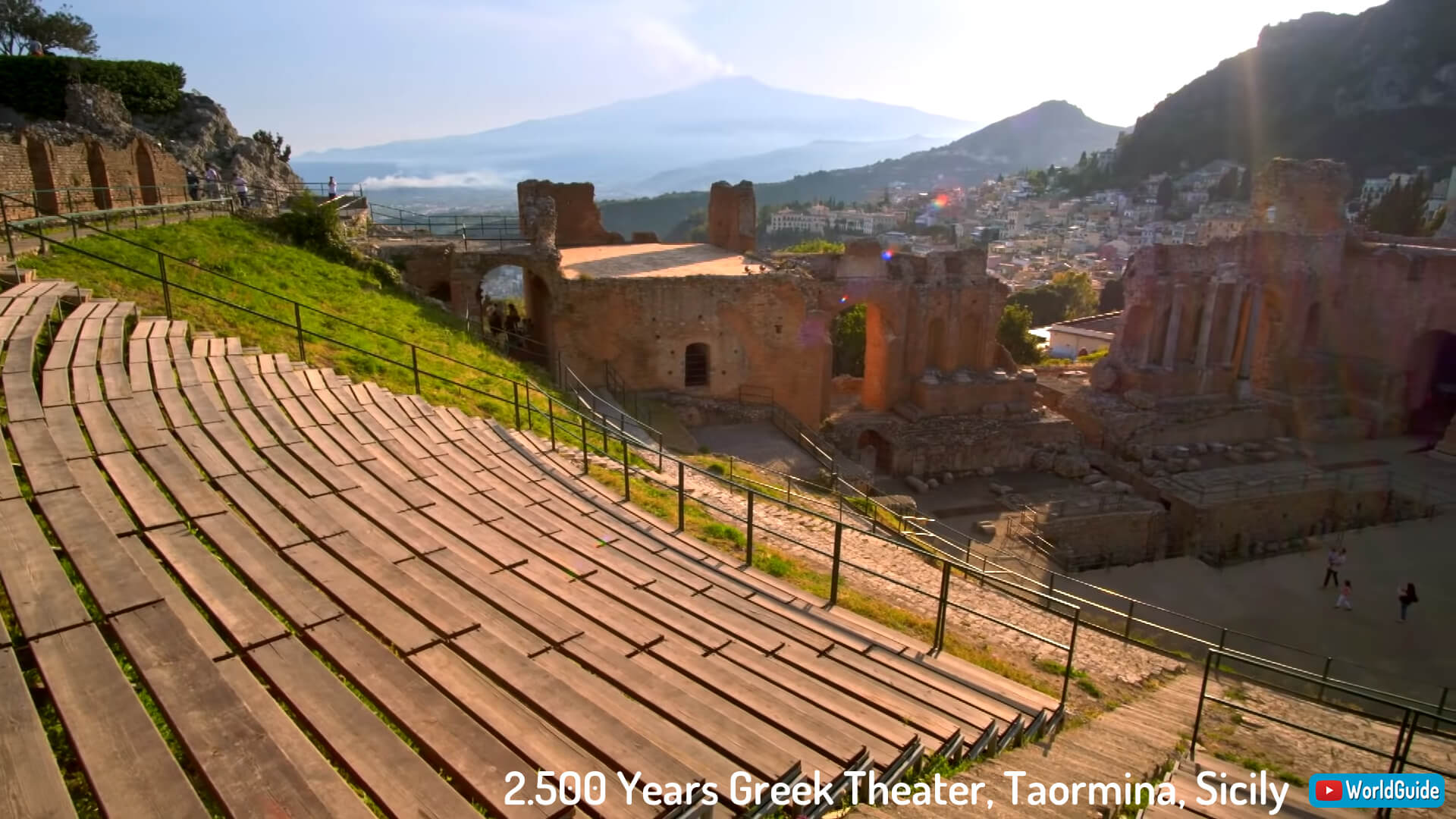 2.500 Years Greek Theater, Taormina, Sicily
