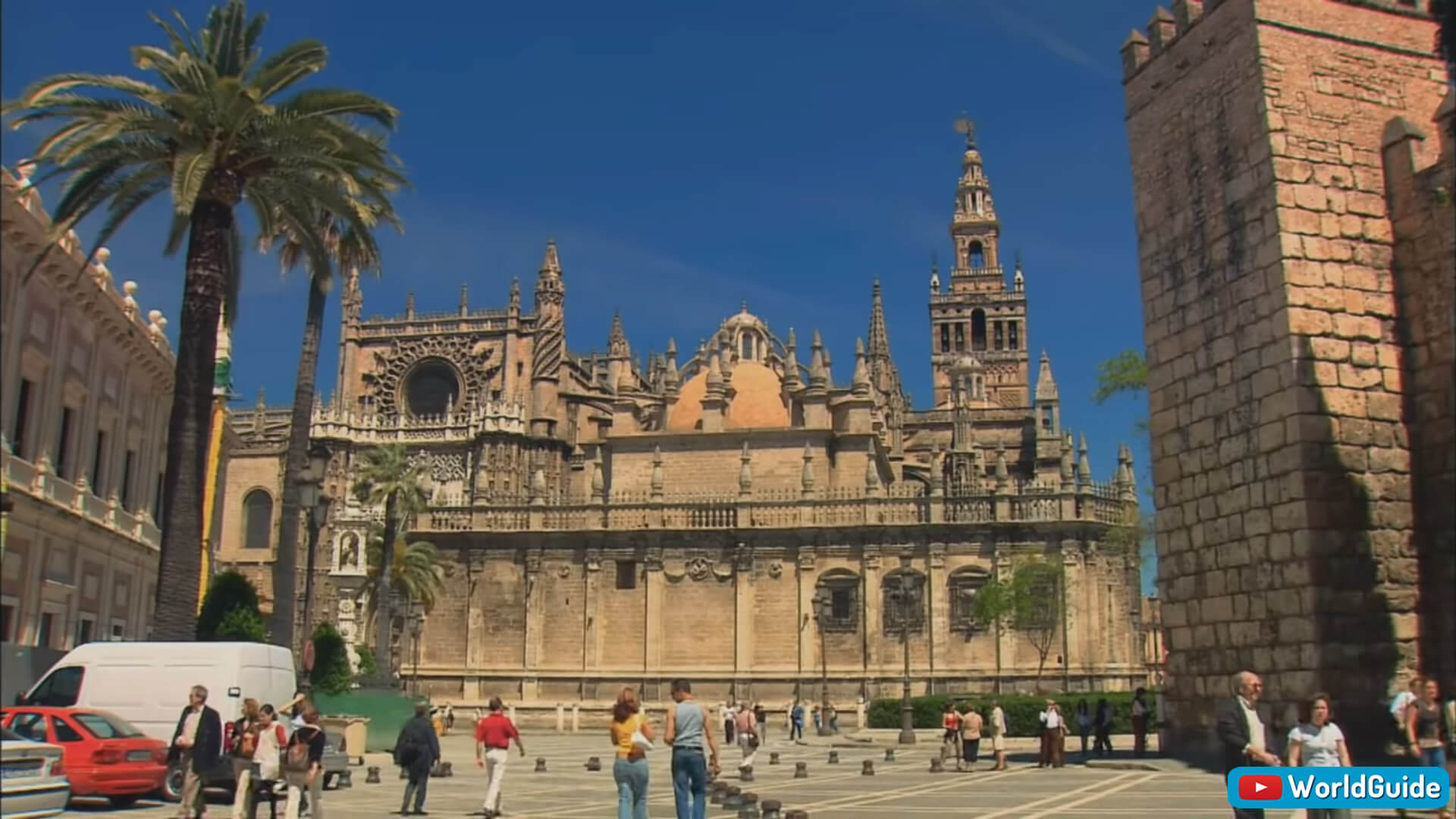 Santa Cruz Cathedral in Seville