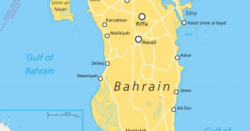 bahrain political map