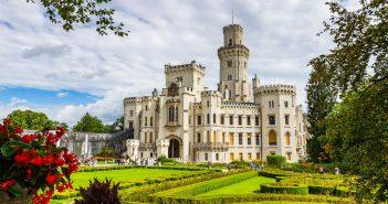 Castle Hluboka and Vltavou, Czech Republic