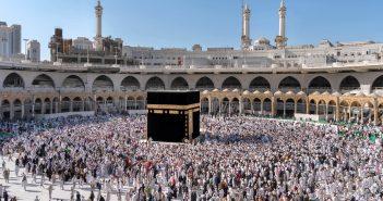 Muslim pilgrims, Mecca