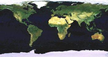 whole world satellite map