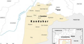 map of kandahar