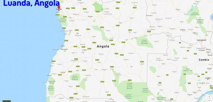 Luanda Map