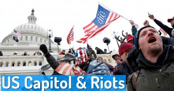 The US Capitol, History, Aerial View and US Capitol Riot
