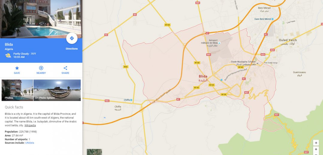 blida map