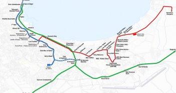 el jazair metro map