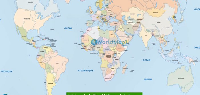 Map of World Countries