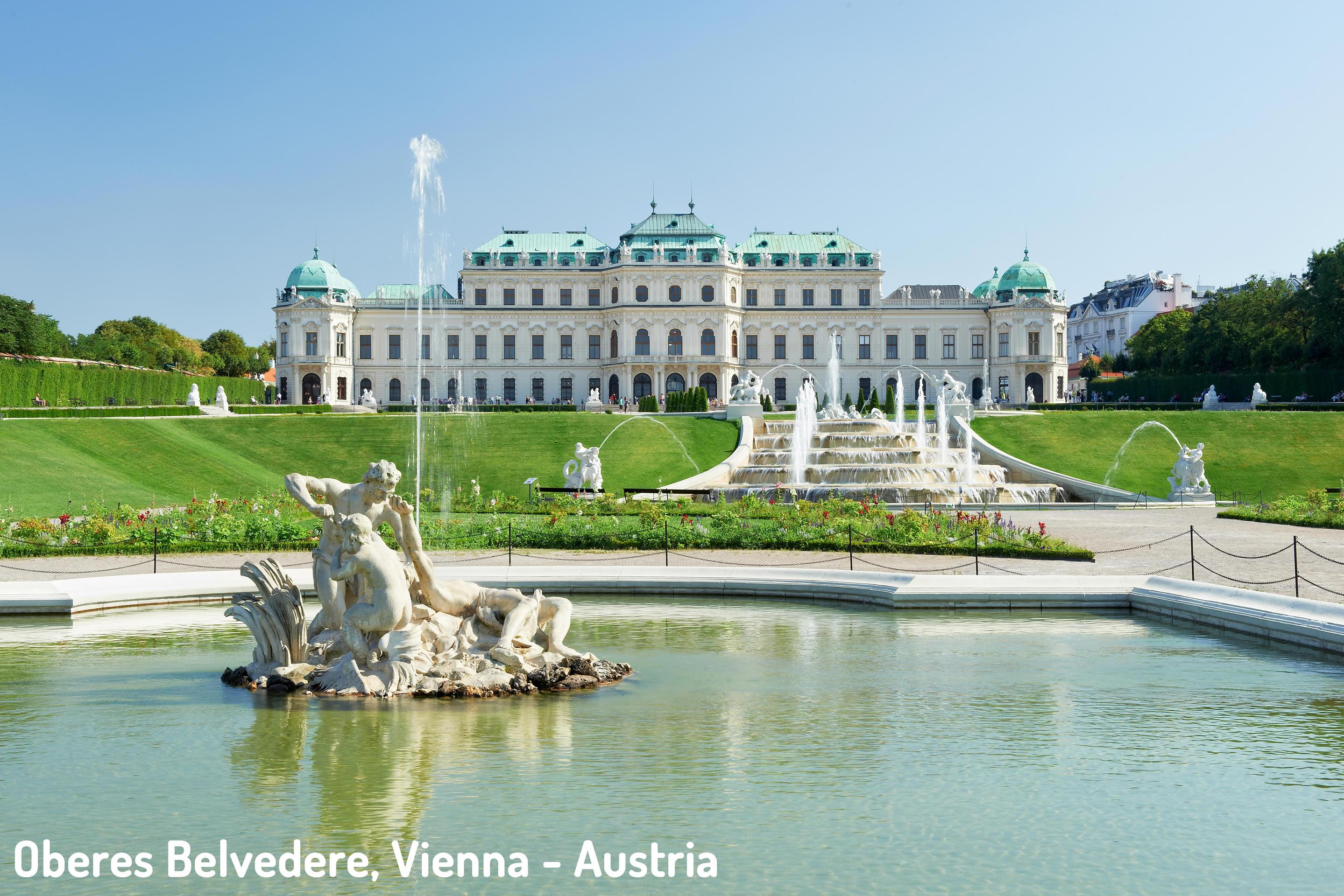 Oberes Belvedere Vienna Austria