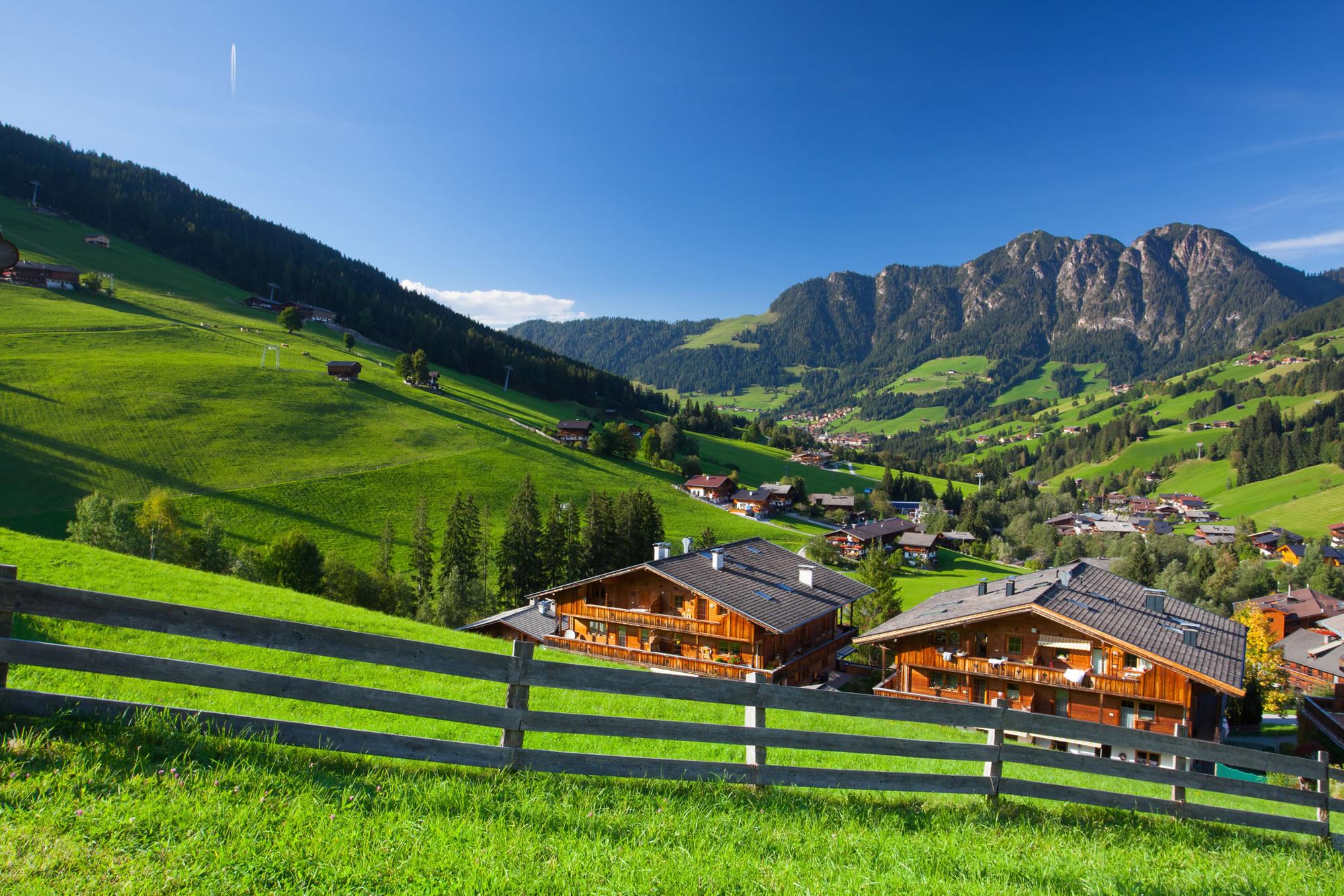 Alpbach Valley, Tirol, Austria