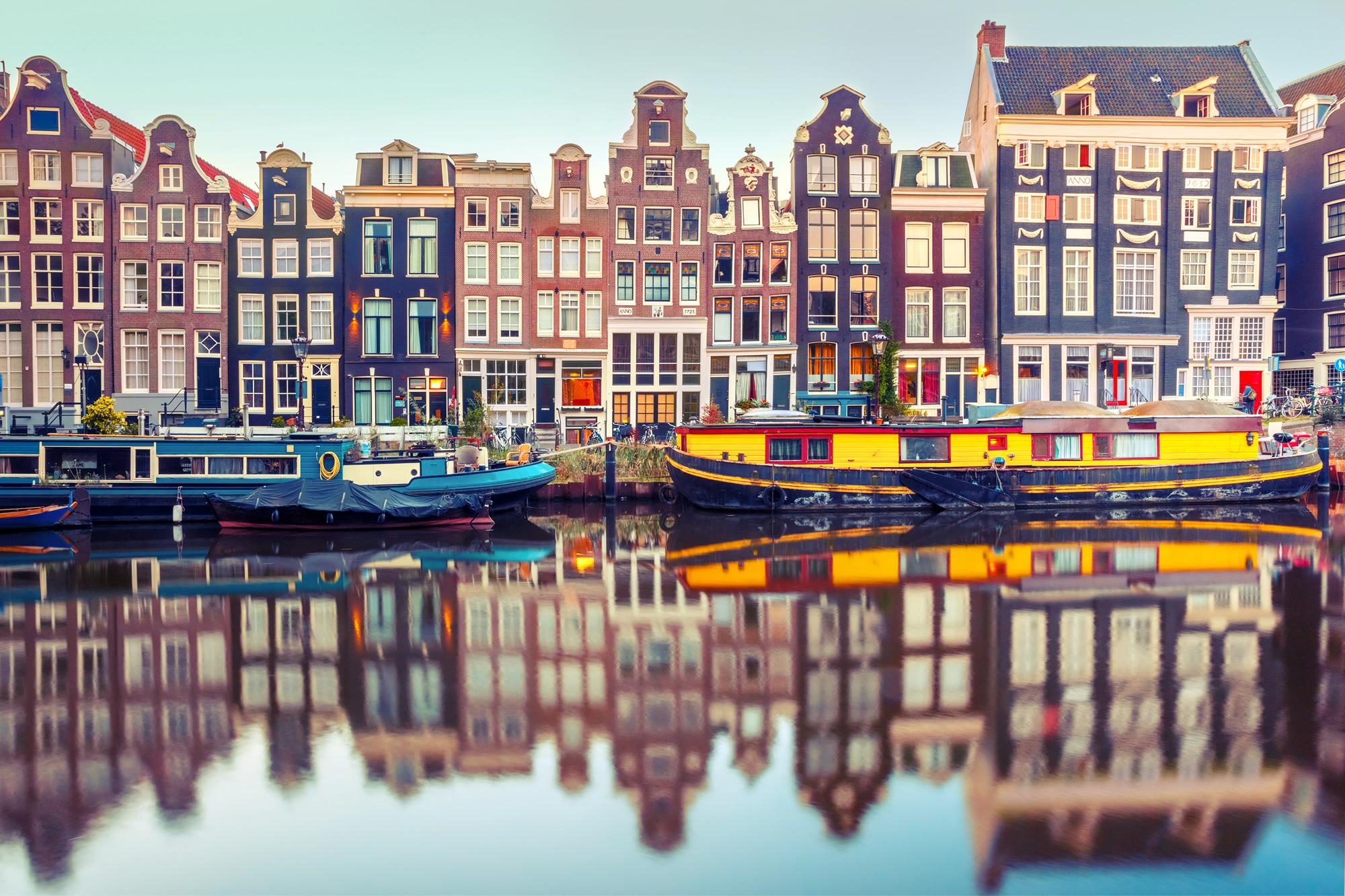 Amsterdam Canal Singel