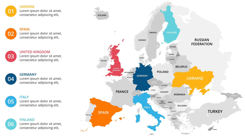 Belgium Europe Infographic Map
