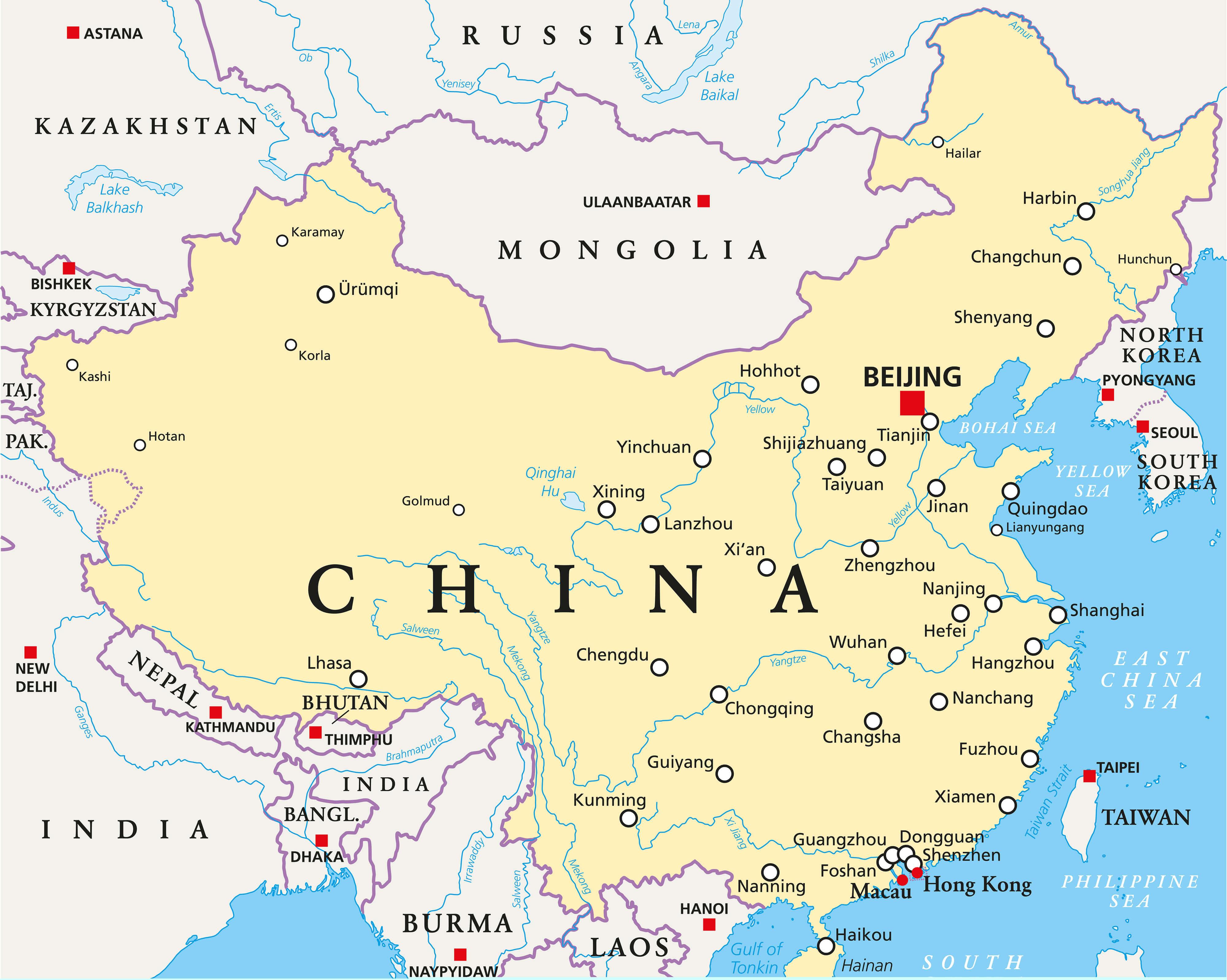 China National Map
